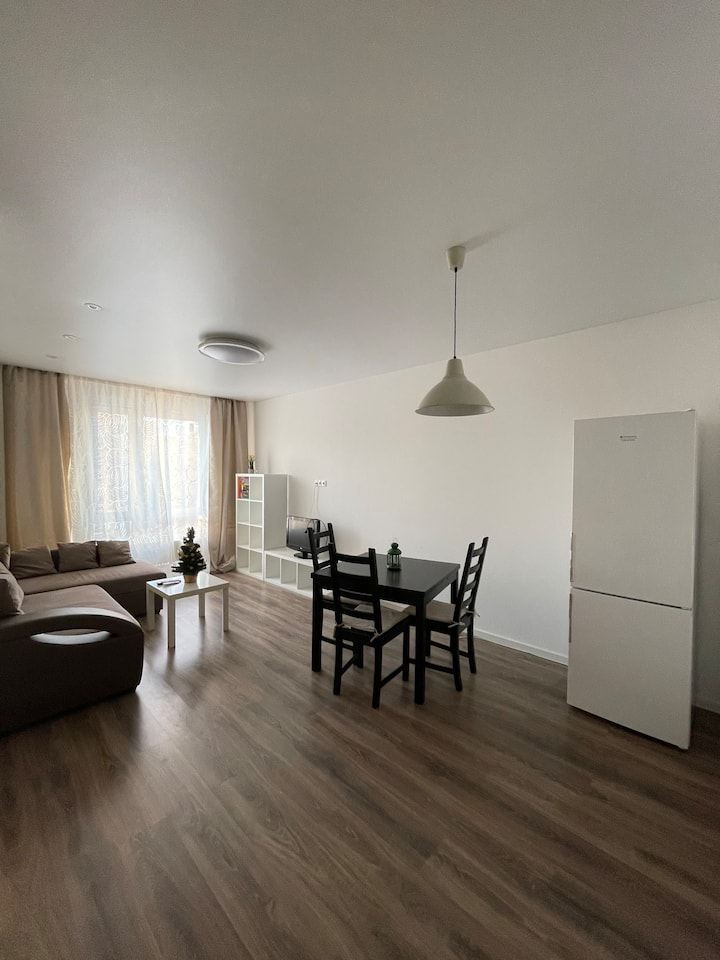 Уютная квартира 40 минут до центра Москвы
