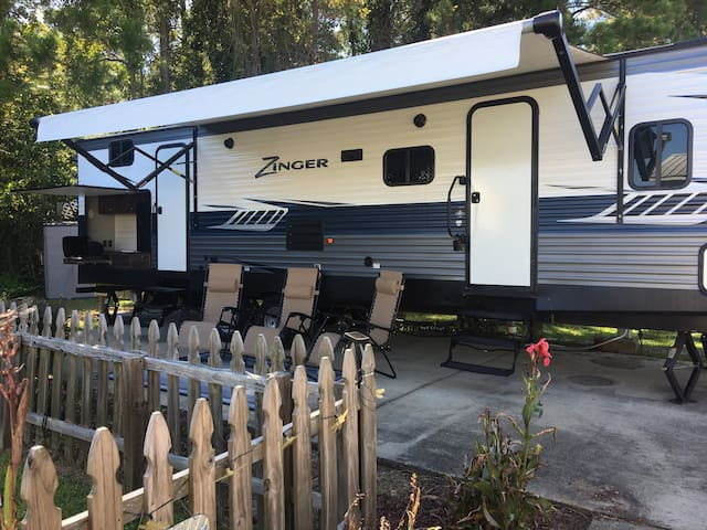 Orange Beach Coastal Camper ~ Sleeps 7