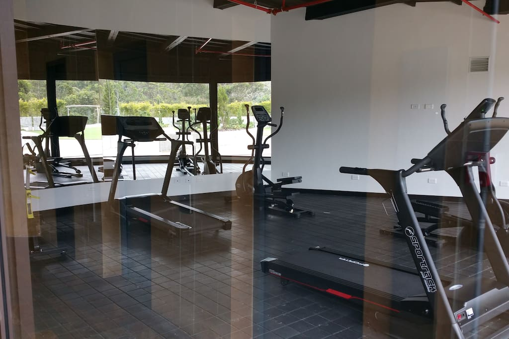 Gym at the terrace