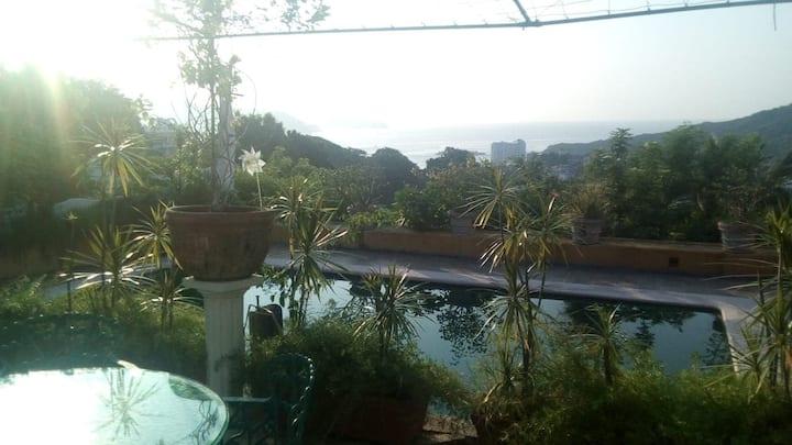 Somos 100% Acapulco. Habitación matrimonial.