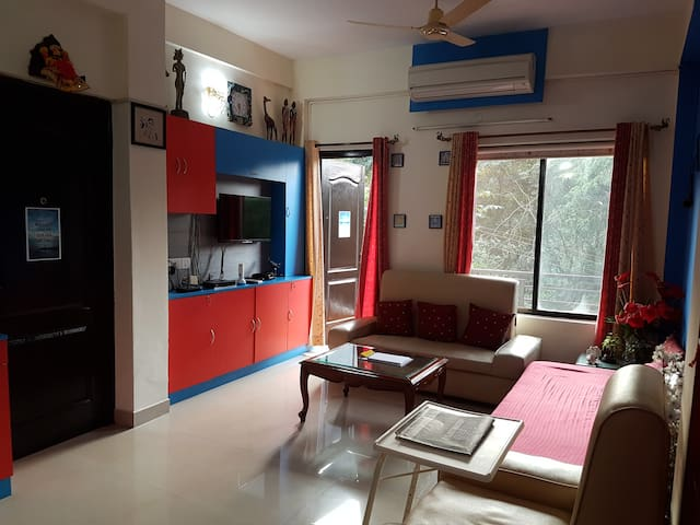 Beautifully furnished 2bhk home, at Vagator - Vagator - Apartmen