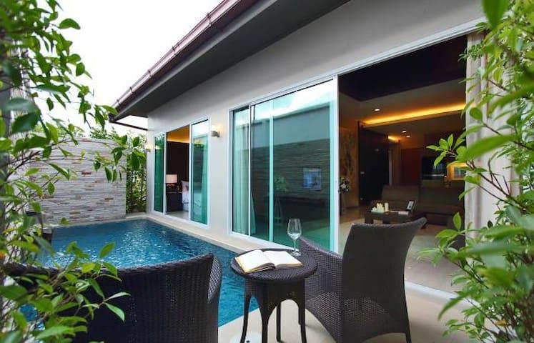 Pool Villa JomtienBeach 3BR-160sqm - Pattaya - Casa