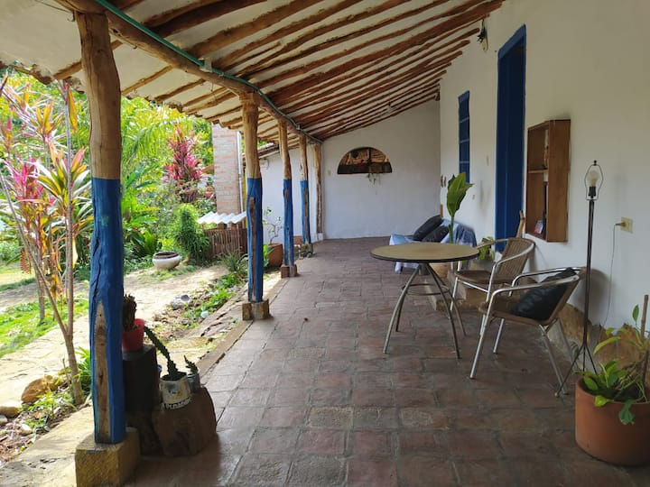 Habitación doble privada Casa Tortuga