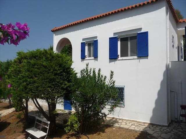 2 bedroom Detached house in Ampeliona RE0188  - Loutra Killinis - Apartamento