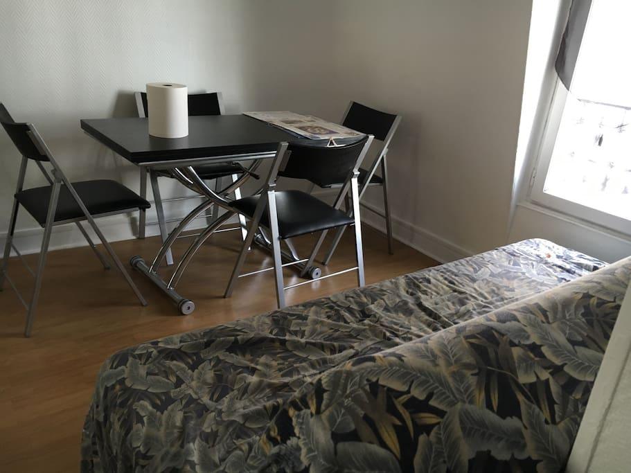 Salon+chambre/living room+room