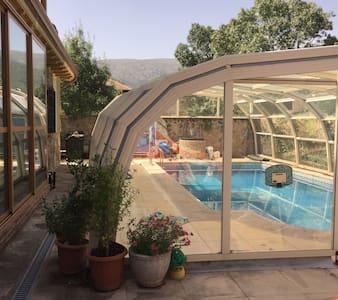 Habitacion privada en casa preciosa - Rascafría