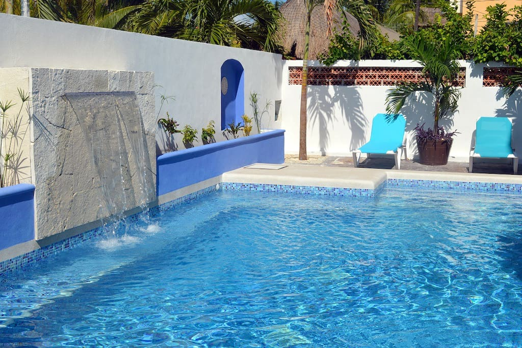 Our pool in Corales B, right next to Corales A