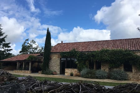 beautifully restored barn with private pool - Castelnaud-la-Chapelle