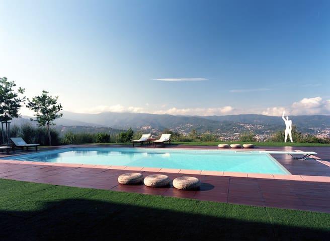 Diano Marina: appartamento in villa con piscina - Gorleri - Appartement