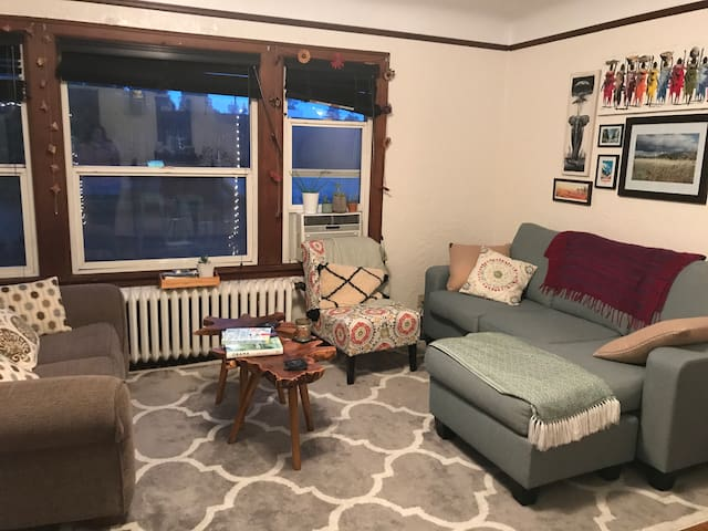 Large Split Studio with access to Fremont