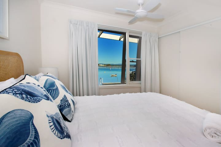 Master Bedroom with private view