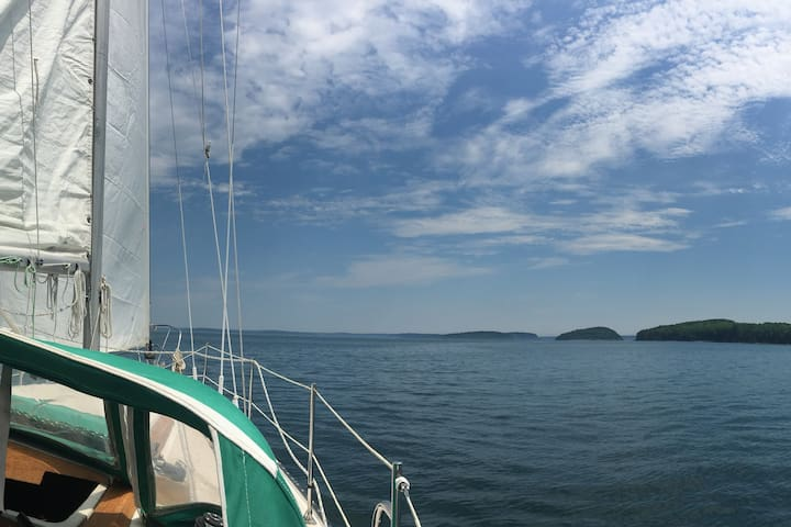 Ask about our Private sail charter - available only to our guests. Experience MDI as the locals do... from the Ocean! You haven't fully explored Acadia until you've done this!!