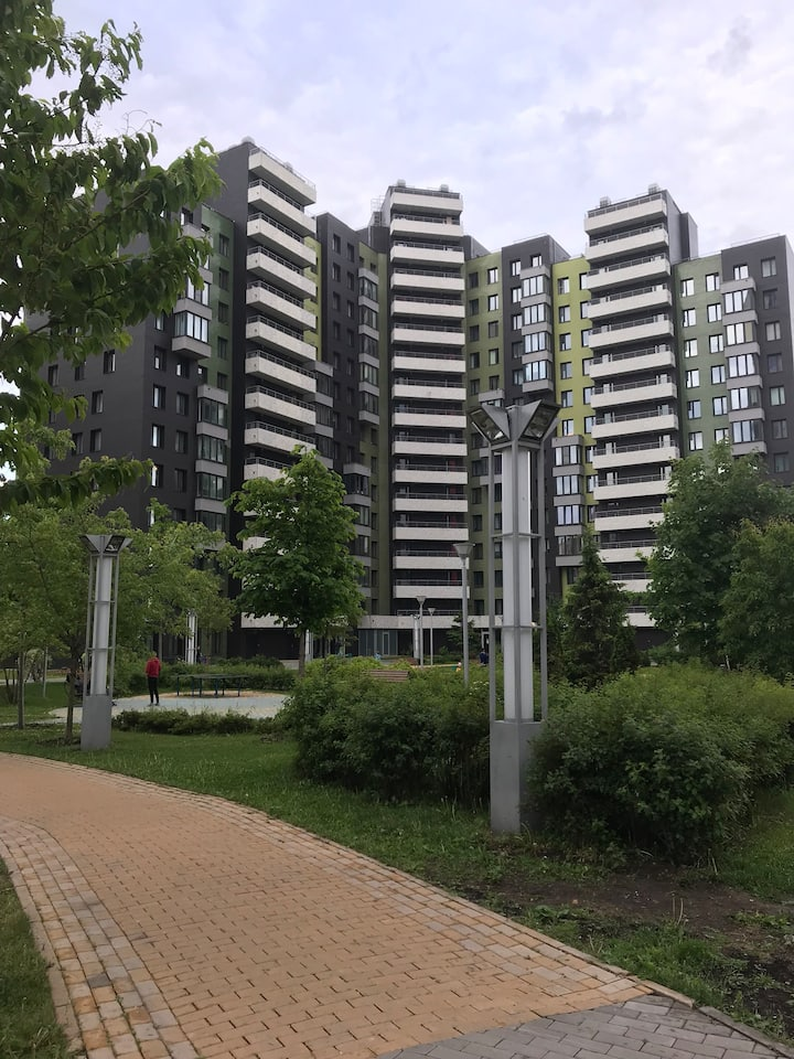 Apartments 3 bedroom FIFA 2018 near Open Arena