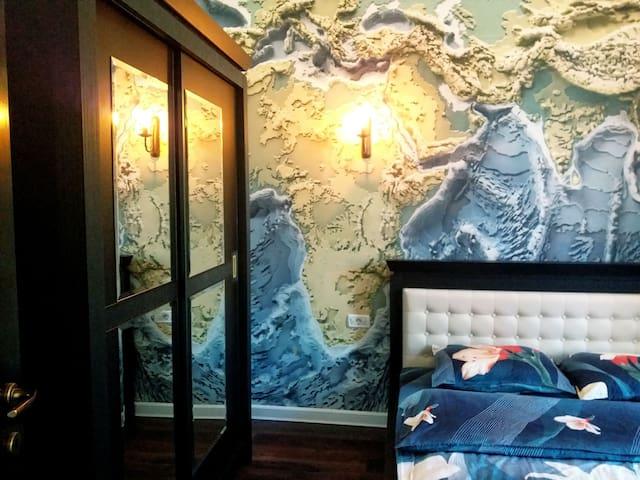 Casa Arian, World map room