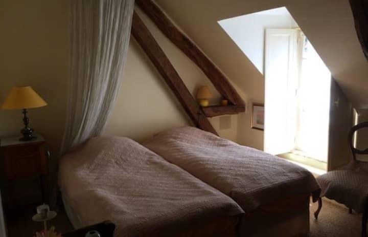 Sologne, chambres privées dans longère ancienne