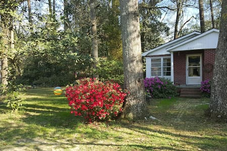 Cozy 2br Historic Home in Quiet Downtown Conway - Conway - Casa