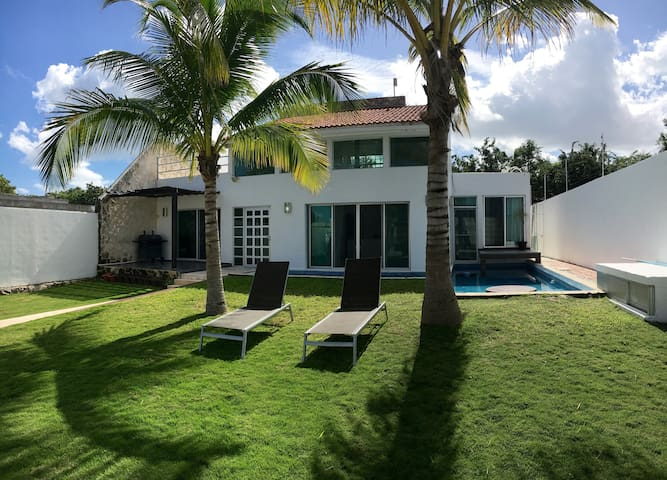 Beautiful,Private and Relaxing Home,gatedcommunity - Alfredo V. Bonfil - Casa