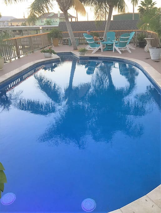 Home can be rented with or without pool. Beautiful Pool located next to home available for rent at $150/day.
