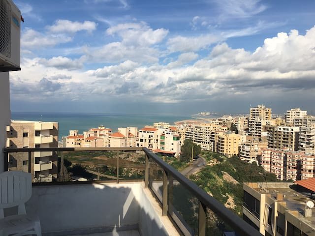 Duplex in Aramoun - Sea view