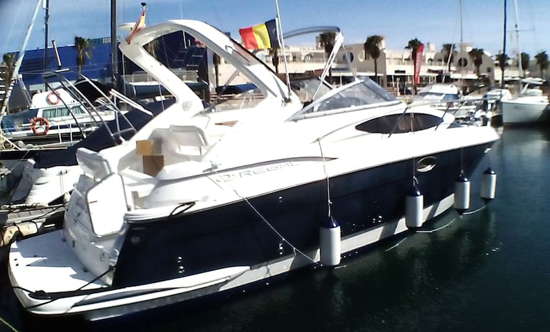 Stay on a luxury motor cruiser. - Alicante - Barca
