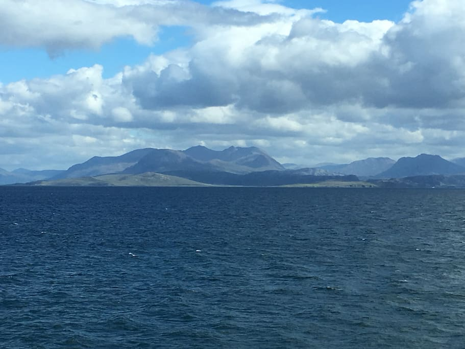 Arriving into Ullapool