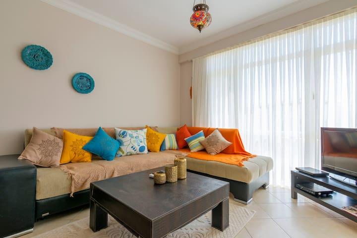 APOLLONIUM SPA & BEACH RESORT 2 YATAK ODALI DAİRE1 - Akbük - Διαμέρισμα