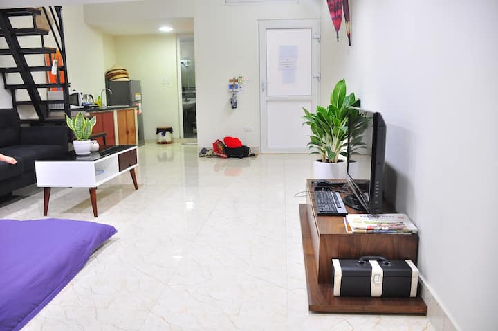 LARGE PRIVATE STUDIO @♥center of old town#4bds