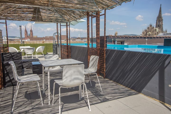 Vitra Design CityLoft 6 Room | Pool - Basel - Loft