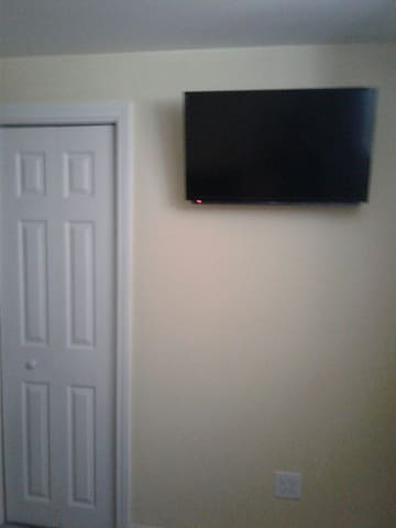 tv in master bedroom..
