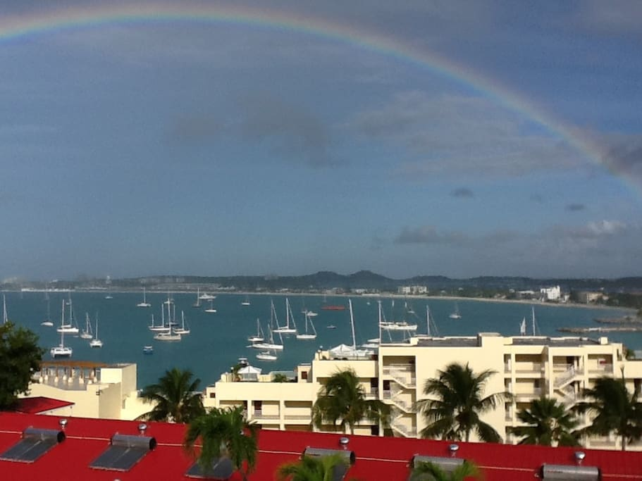 We see this almost everyday from our room!