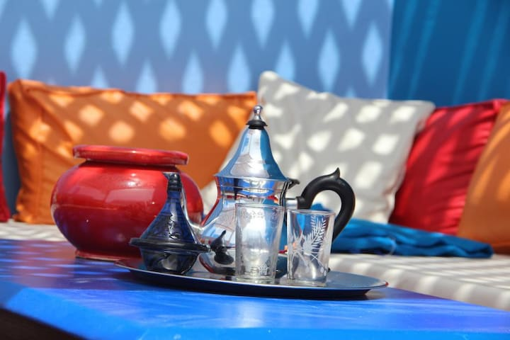 Ch Marrakech Riad Dar Daisy Free-WiFi & Breakfast