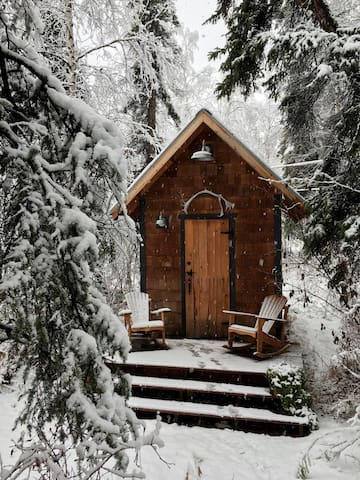Cosy Cabin Retreat for Two, Convenient Location - Fairbanks - Ξυλόσπιτο