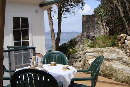 Precioso estudio 1ª línea frente a las Islas Cíes - Vigo - Andere