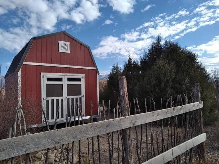 The Little Red Barn at Wildland Gardens
