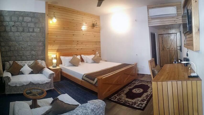 Room 2 with en-suite wash room.