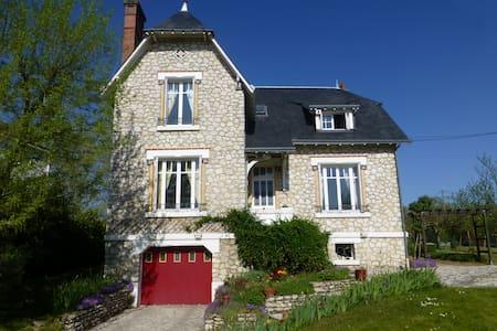 Chambre au cœur des châteaux du val de Loire - Onzain