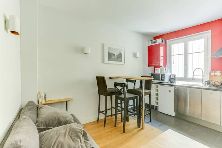 Cute Apartment Near Montmartre