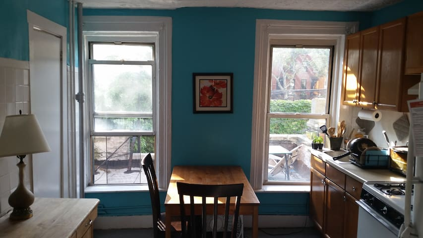 Sunny 1-Bedroom in Cobble Hill with Outside Space