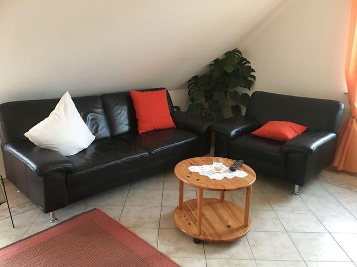 Ferienwohnung Haus Albsicht, (Mössingen), Ferienwohnung, 98 qm, 3 Schlafzimmer, max. 6 Personen