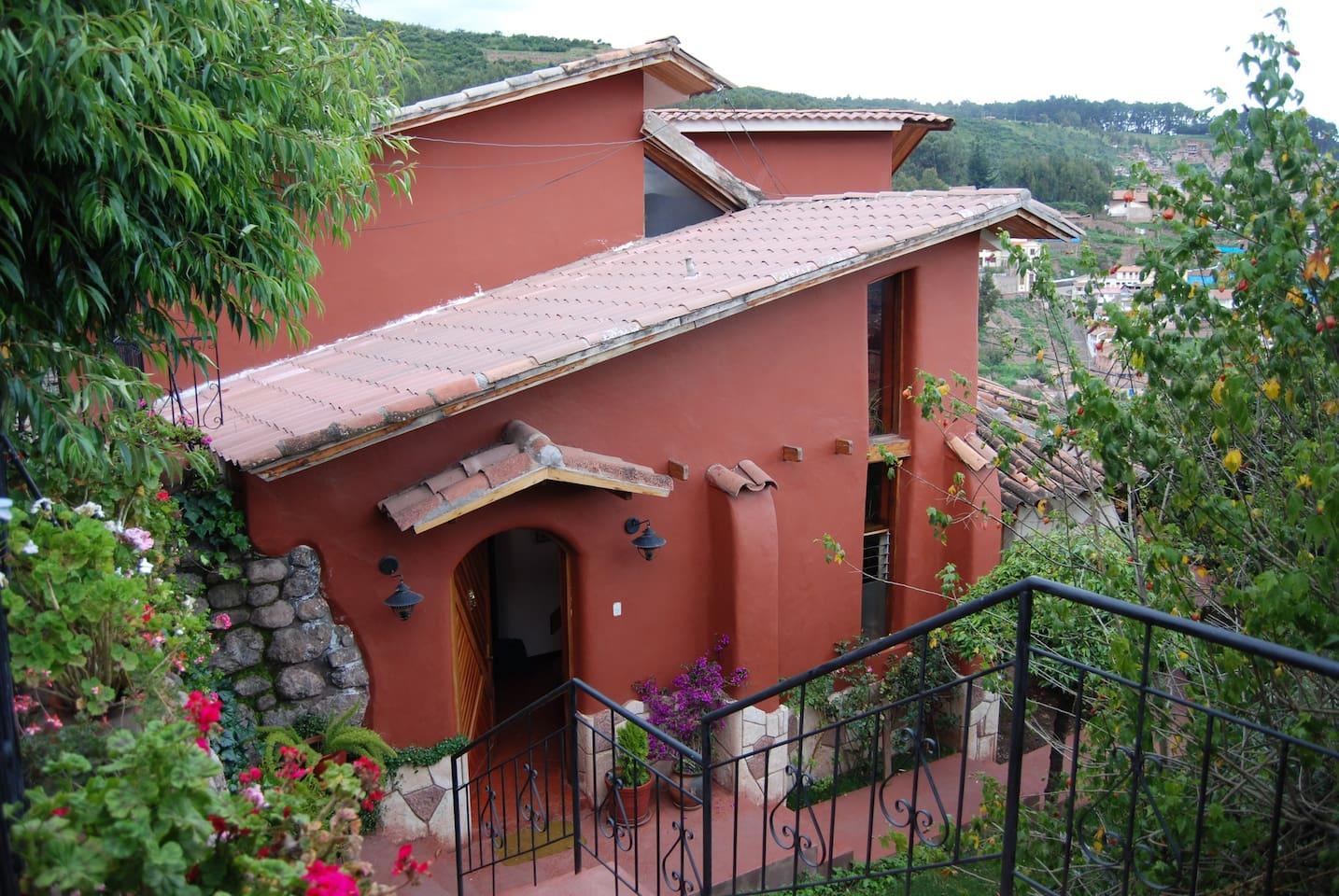 Vista casa-vivienda Interior