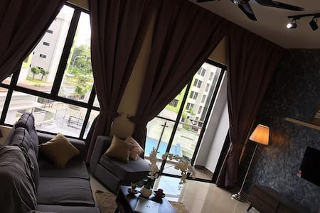 Cozy new pool view apartment @ Johor Bahru - Masai - 公寓