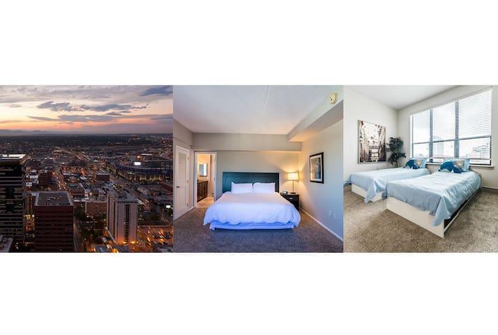 Modern luxury 2 bed 2 bath condo at heart of LoDo