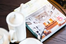 大床房咖啡桌