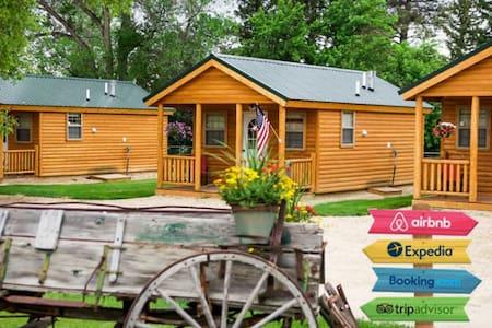 **NEW** Three Clean Cozy Cabins - Sleep 9 - Mountain base!
