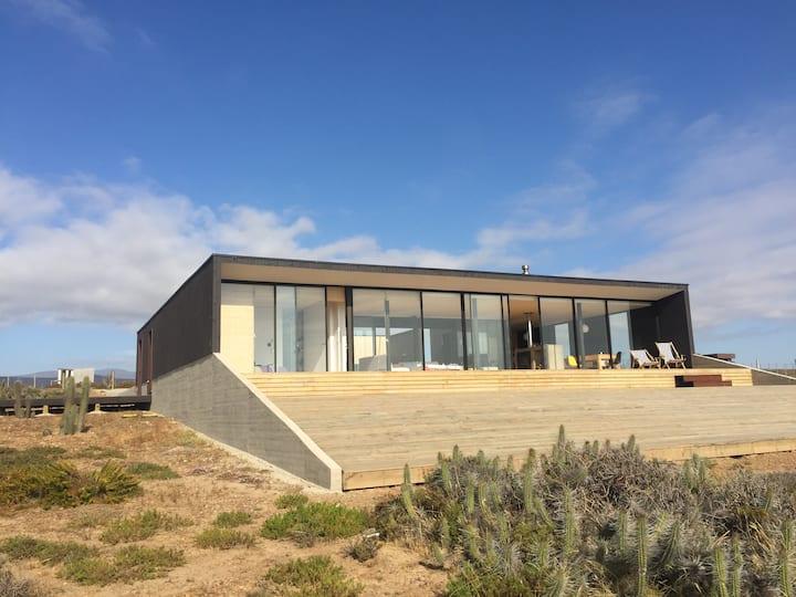 espléndida casa de playa en Huentelauquén Norte