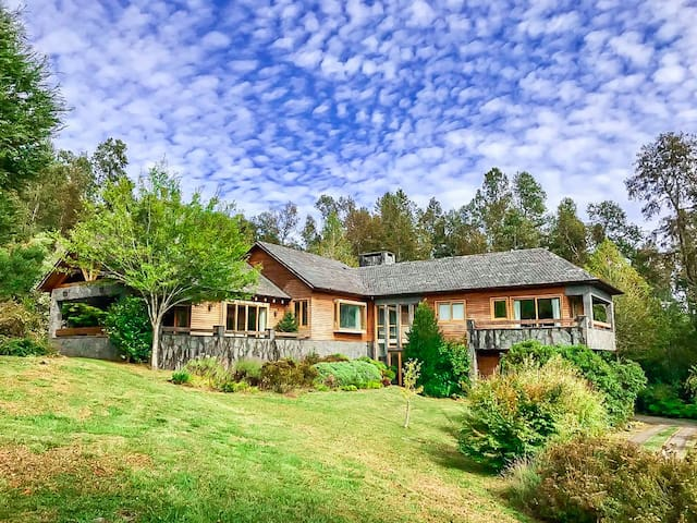 Luxury Estate in Pucon AMAZING Views!  Skiing near