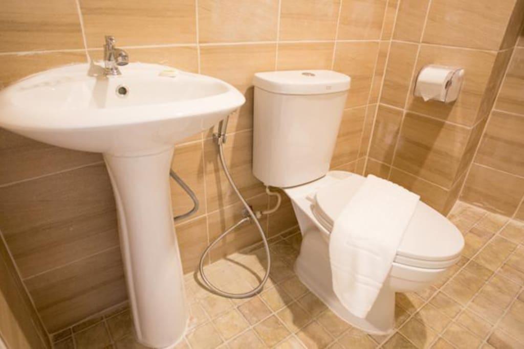Brand New Clean Bathroom