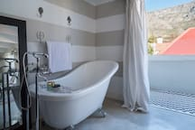 The Main Bathroom – with a view of Table Mountain