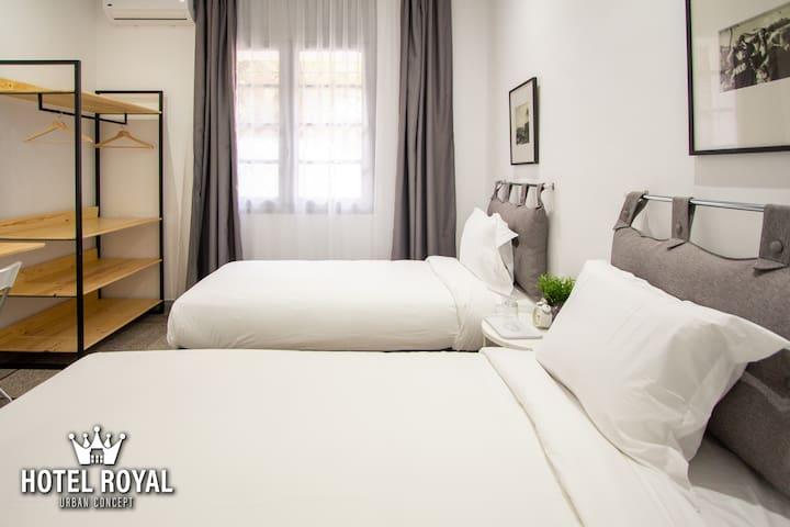 Urban Concept Twin bedroom