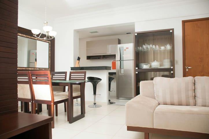 Apartamento en condominio de luxo - Goiânia - อพาร์ทเมนท์
